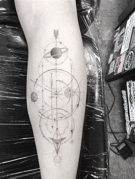 dr woo tattoo artist dr woo artist half needle planets