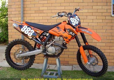 2006 Ktm 250sxf Specs 2006 Ktm 250 Sx F Image 8