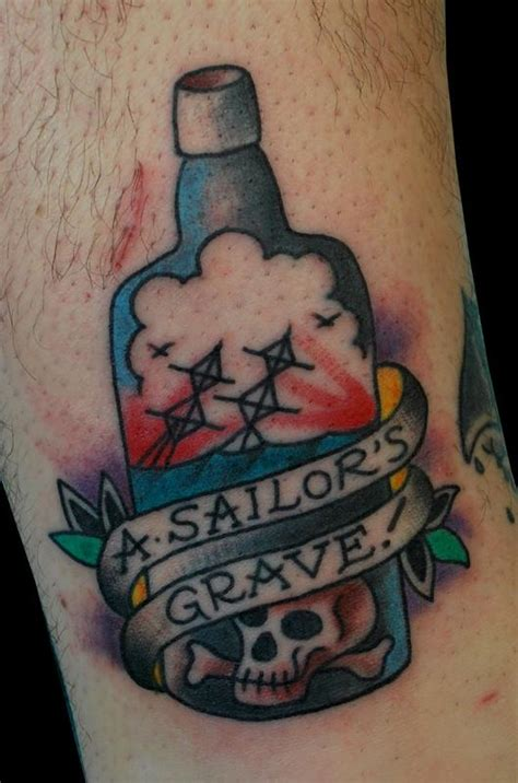 sailors grave tattoo the map tattoos color traditional sailor