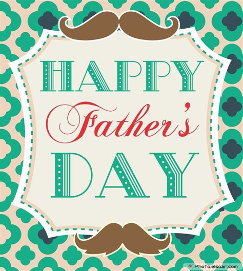happy fathers day greeting card or background stock image