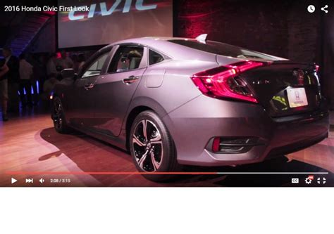 honda civic 2016 review 10th generation civic available in 9 exterior paint colors