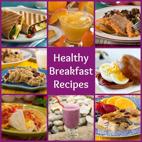 18 healthy breakfast recipes to start your day out right mrfood com