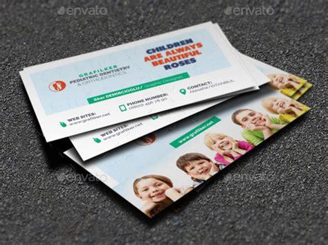 kid business card template dentist dental clinic business card template 40 free