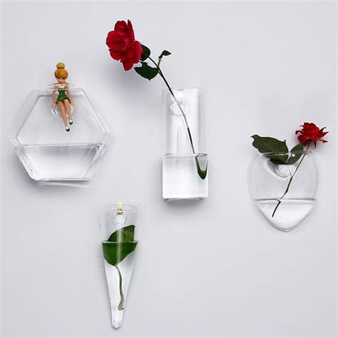 Flower Vases For Sale by Wall Hanging Vase Home Decor Clear Glass Vase Hydroponic