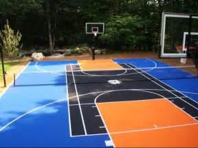 basketball court in the backyard basketball court dallashomelessnetwork