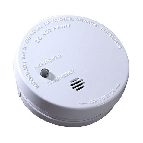 smoke detectors in bedrooms code first alert hardwired interconnected smoke alarm with battery backup 7010b the home