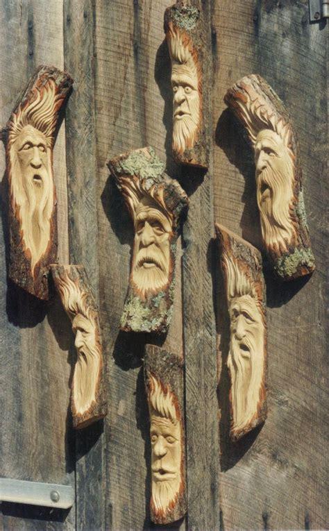 image result  wood carving spirit faces