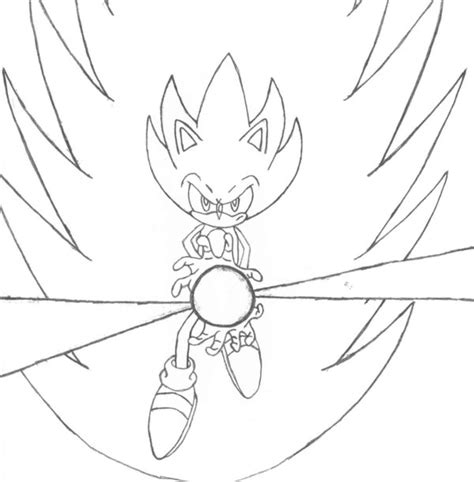 super sonic the hedgehog coloring pages image search results