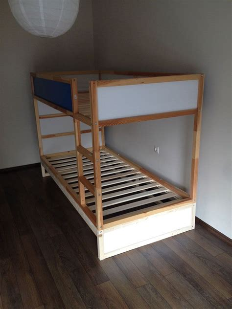 ikea bunk bed ikea kura double bunk bed extra hidden bed sleeps 3