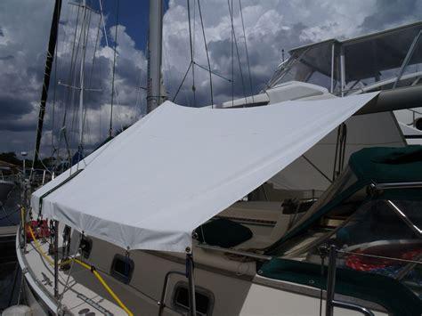 sailing boat covers wildcat sailorgirl my new sunshade boat sewing