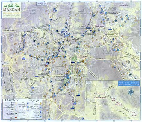 mecca map mecca city map mecca saudi arabia mappery