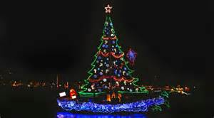 108th annual newport beach christmas boat parade at waterline