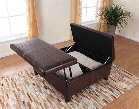 leather lift top ottoman dorel asia denton storage ottoman with lift top and