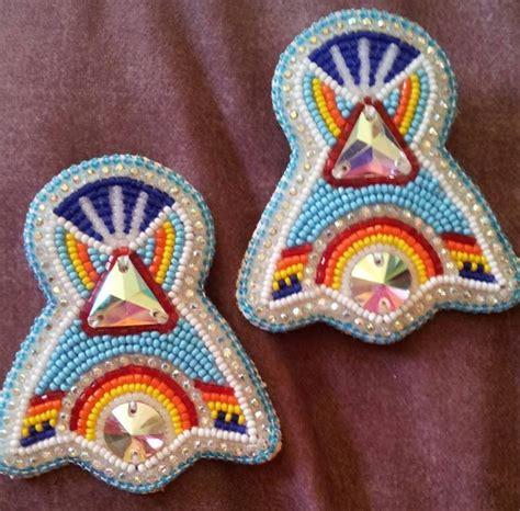 beadwork earrings best 25 beadwork ideas on