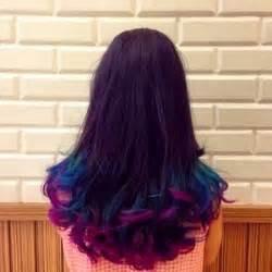 rambut umbre gaya model rambut ombre cantik yang lagi trend untuk