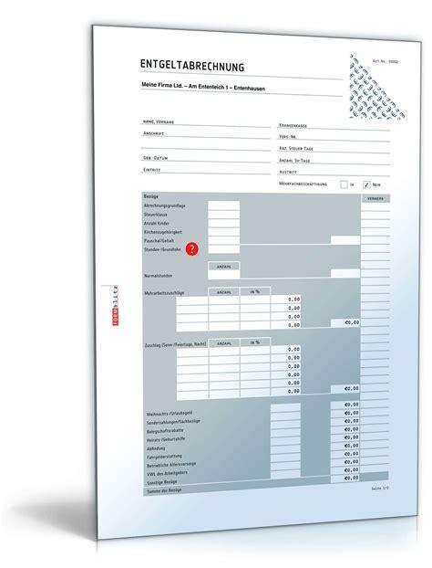 Muster Lohnabrechnung Schweiz Lohn Und Gehaltsabrechnung 2016 Muster Zum