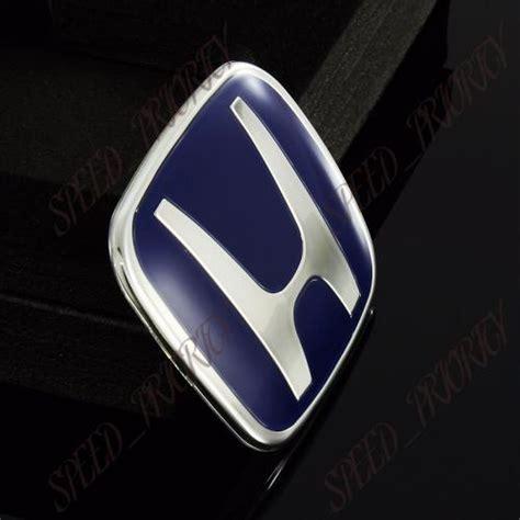 Emblem Original Honda Cr V 2009 for honda blue h steering wheel type a jdm emblem civic