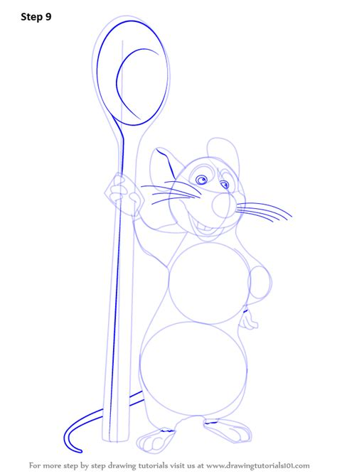 django nose tutorial learn how to draw remy from ratatouille ratatouille step