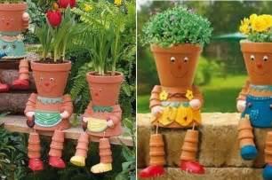 fabriquer des personnages en pot de terre cuite terre