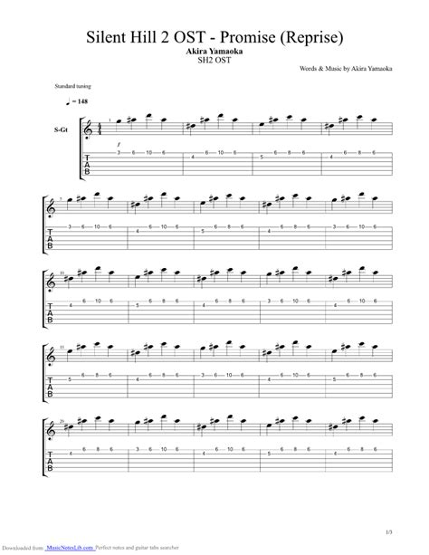 waiting room bass tabs promise reprise guitar pro tab by yamaoka musicnoteslib