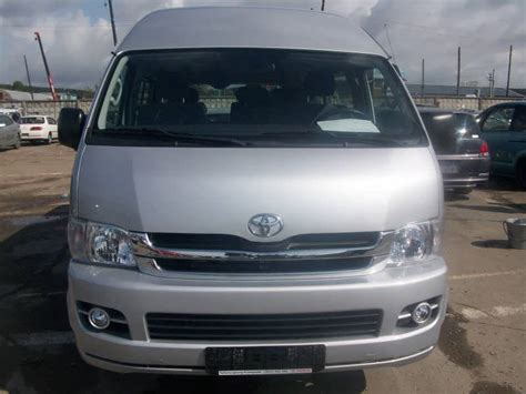 Toyota Hiace 2008 2008 Toyota Hiace Pictures 2700cc Gasoline Fr Or Rr