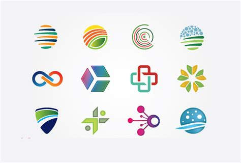 free logo to design colorful logo vector elements bing gallery