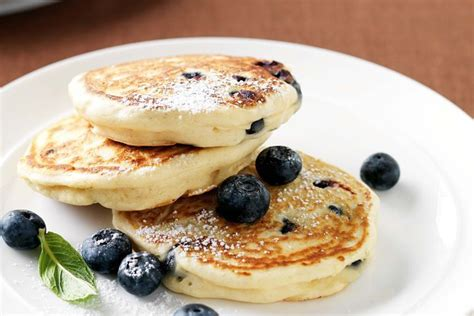 blueberry pancake blueberry and vanilla pancakes