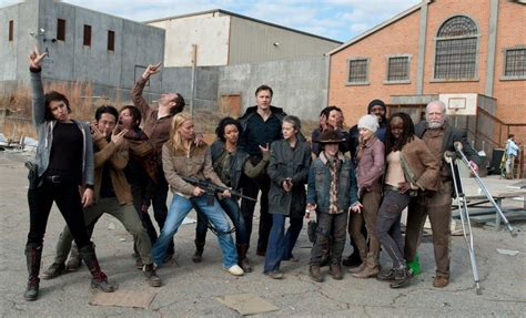 The Walking Dead Iii walking dead season 3 cast walking upright citizen s brigade