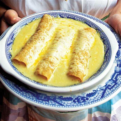 enchiladas suizas with chicken recipe dishmaps