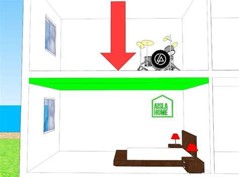 aislamiento techos aislamiento ac 250 stico de techos mejora el confort