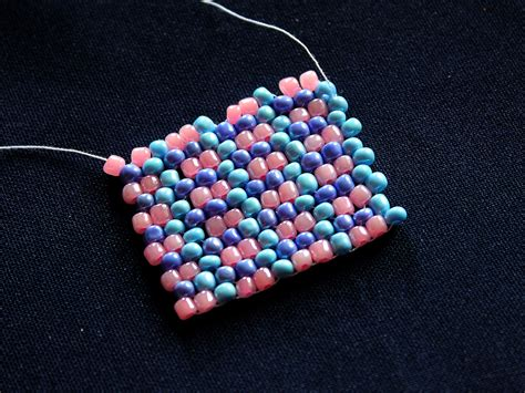 peyote beading how to do peyote stitch 13 steps with pictures wikihow