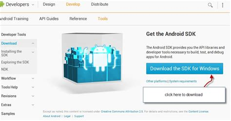 tutorial android developer tools download installing android sdk tools eclipse tutorial
