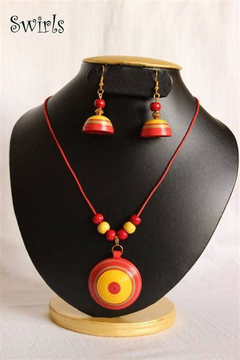 How To Make Paper Jewellery Jhumkas - 1321 best images about paper quilling jwellery on