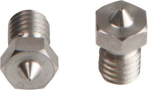 0 25 V6 Stainless Steel Nozzle For 1 75mm Filament e3d v6 nozzle stainless steel 1 75mm x 0 25mm