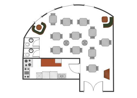 how to design layout of restaurant caf 233 floor plan exle how to create restaurant floor