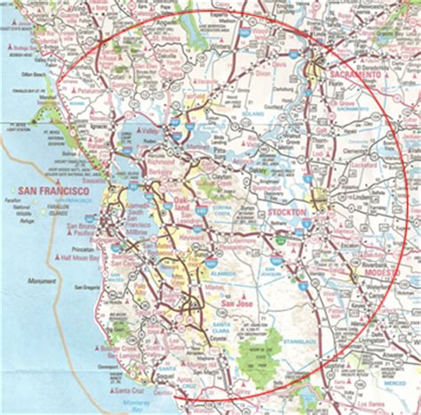 map of san francisco bay area map of greater san francisco area michigan map