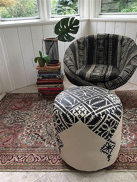 pouf ottoman diy best 25 moroccan pouf ideas on pinterest moroccan