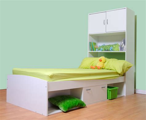 cabin storage bed also available in beech or light oak