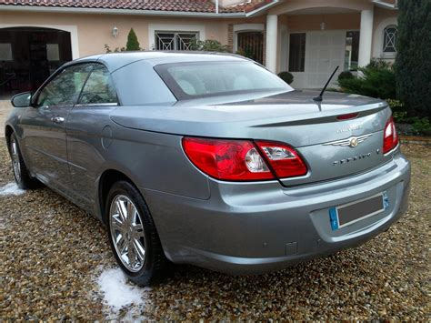 Chrysler Sebring Convertible Club by Annonce 2 Chrysler Sebring Convertible 2 0 Crd Limited