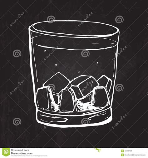 whiskey glass svg glass of whisky vector sketched illustration at stock
