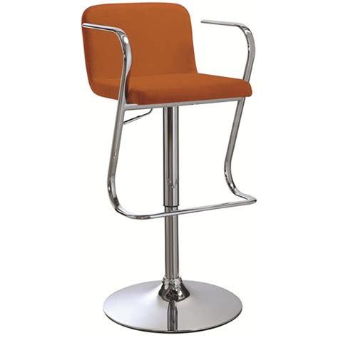 Orange Fabric Bar Stools by Orange Fabric Bar Stool A Sofa Furniture Outlet