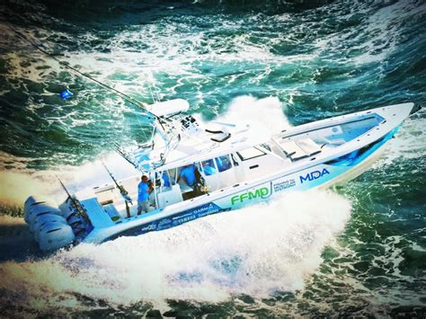 fishing boat giveaway yamaha outboards supports fishing for muscular dystrophy s