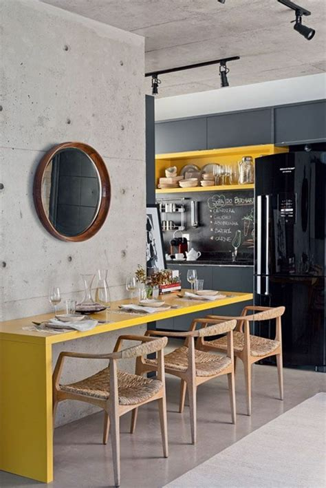 cuisine moutarde la couleur jaune moutarde nouvelle tendance dans l