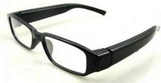Kamera Pengintai Berbentuk Kaca Mata inilah daftar kamera pengintai dengan bentuk unik