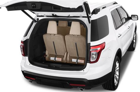 ford explorer trunk space 2015 ford explorer reviews and rating motor trend