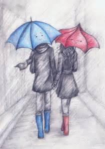 the blue umbrella by la chapeliere folle on deviantart