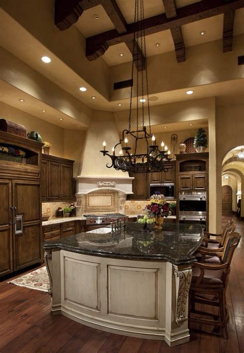 tuscan kitchen islands kitchenceilings beams tuscan kitchens dreams kitchens