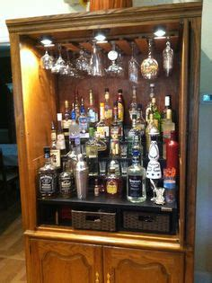 liquor cabinet diy woodworking projects plans