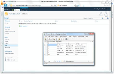 sql workflow sql workflow combining sql server tables and exchange