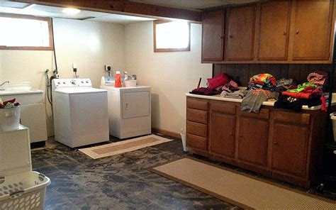 basement laundry room before and after basement laundry before and after